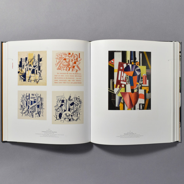 "Interior of the book ""Leger: Modern Art And The Metropolis"""