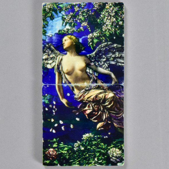 La Farge: Spring Tile Pair by The Painted Lily
