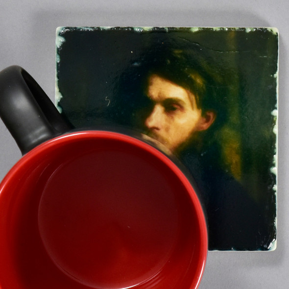 Eakins: The Bohemian Tile by The Painted Lily, with mug