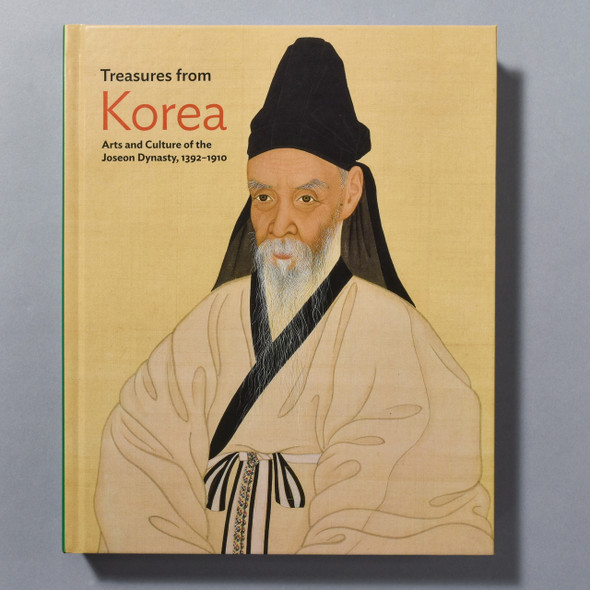 """Cover of the book """"Treasures From Korea: Arts And Cultures Of The Joseon Dynasty, 1392 - 1910"""""""