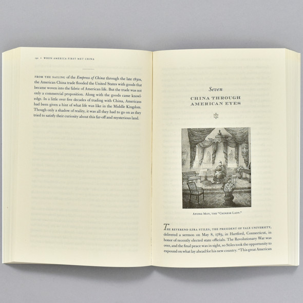 Pages from the book When America First Met China
