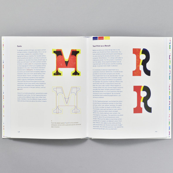 Pages from the book Type and Color