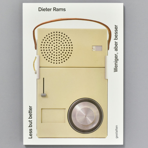 Front cover of the book Dieter Rams: Less but Better