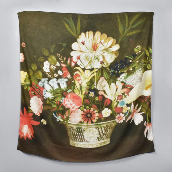 Rubens Peale: From Nature in the Garden Scarf