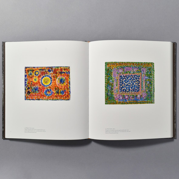"Interior of the book ""Full Circle: Works On Paper By Richard Pousette-Dart"""