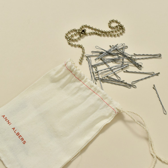 Anni Albers Jewelry: Make Your Own Necklace Kit #1,  contents