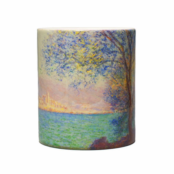Monet Morning At Antibes Mug, Front