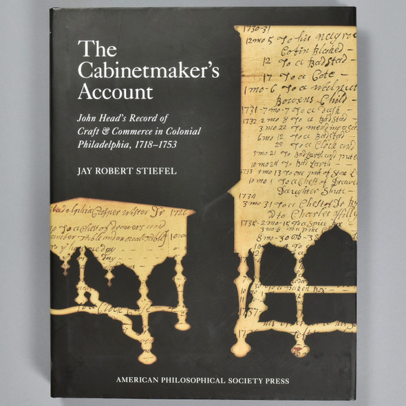 Front cover of the book The Cabinetmaker's Account