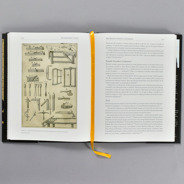 Pages from the book The Cabinetmaker's Account