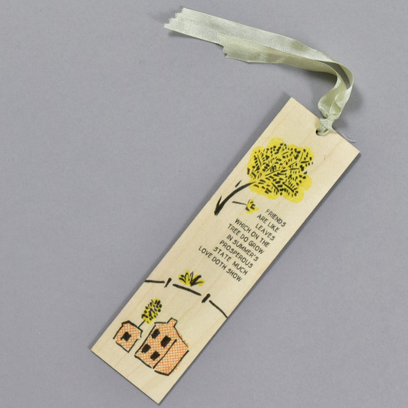 Friends Are Like Leaves Bookmark