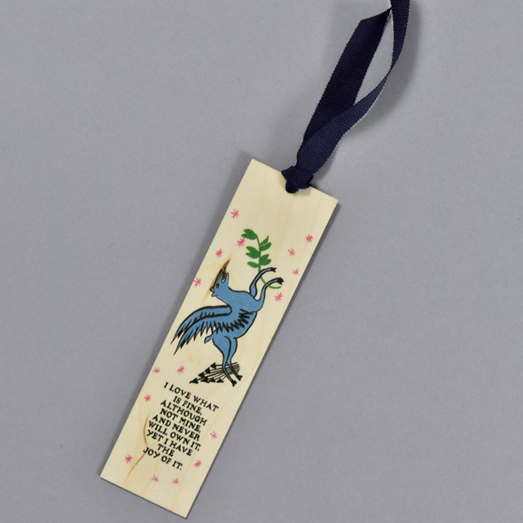 Love What Is Fine Bookmark