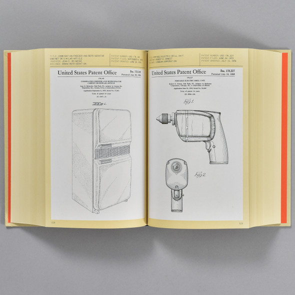 Pages from the book Patented: 1,000 Design Patents
