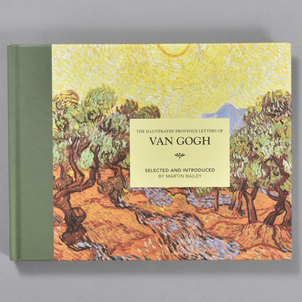 Front cover of the book The Illustrated Provence Letters of Van Gogh