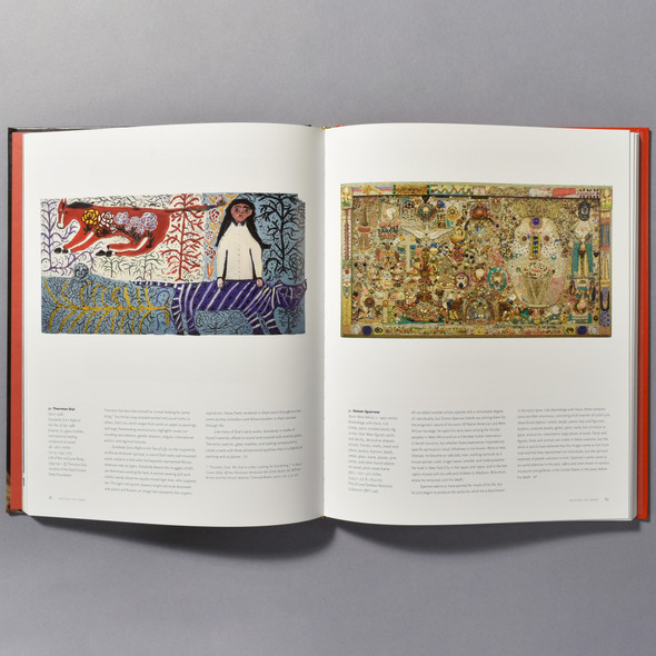 "Interior page of the book ""Represent: 200 Years Of African American Art In The Philadelphia Museum Of Art"""