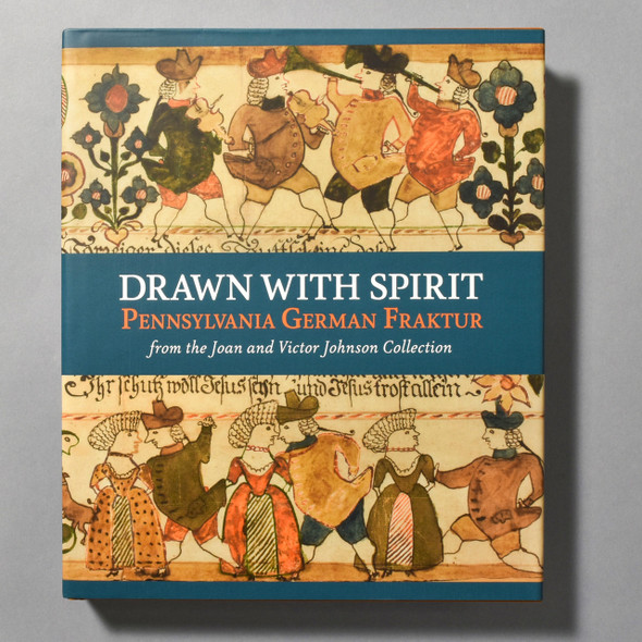 "Cover of the book ""Drawn With Spirit: Pennsylvania German Fraktur"""