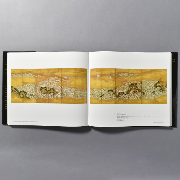 """Interior of the book """"Ink And Gold: Art Of The Kano"""""""