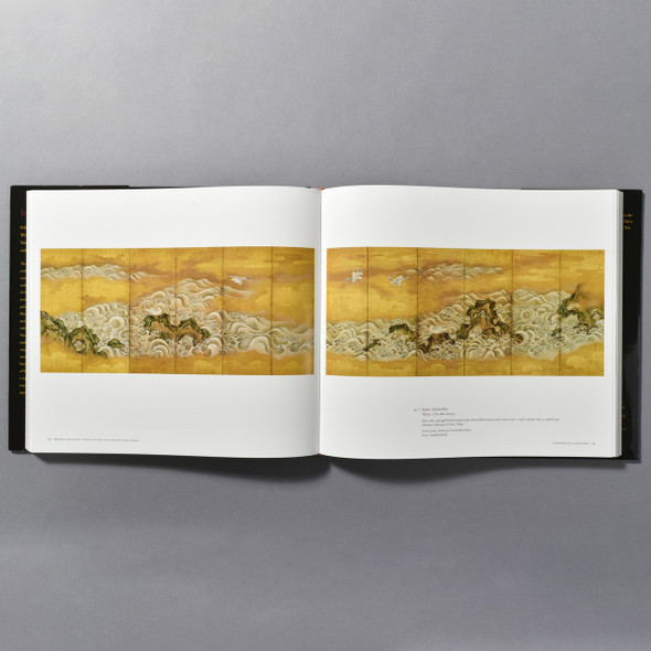 "Interior of the book ""Ink And Gold: Art Of The Kano"""