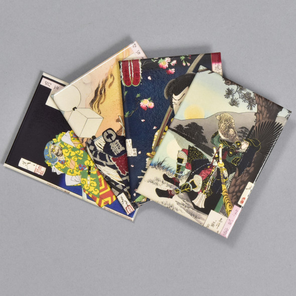 Yoshitoshi: Warriors and Actors Magnet Set, 4 magnets fanned out