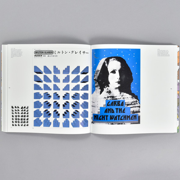 Pages from the book Milton Glaser: Graphic Design
