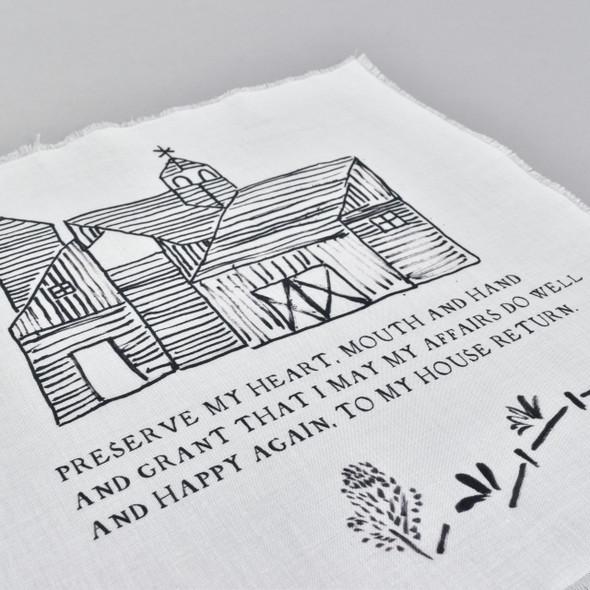 Preserve My Heart Handkerchief
