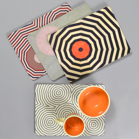 Louise Bourgeois Corkboard Placemat Set, with dishware