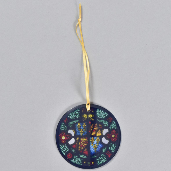 Royal Coat of Arms of England, c 1525 - 1550 Glass Ornament