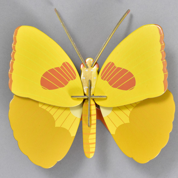 Yellow Butterfly Wall Decor, butterfly