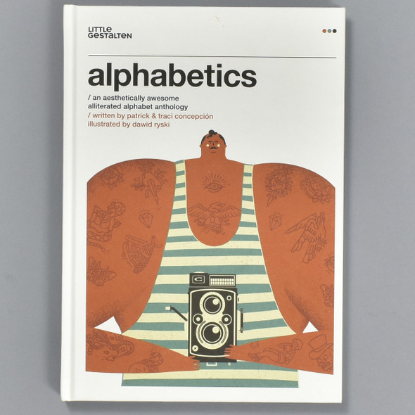 Font cover of Alphabetics: An Aesthetically Awesome Alliterated Alphabet Anthology