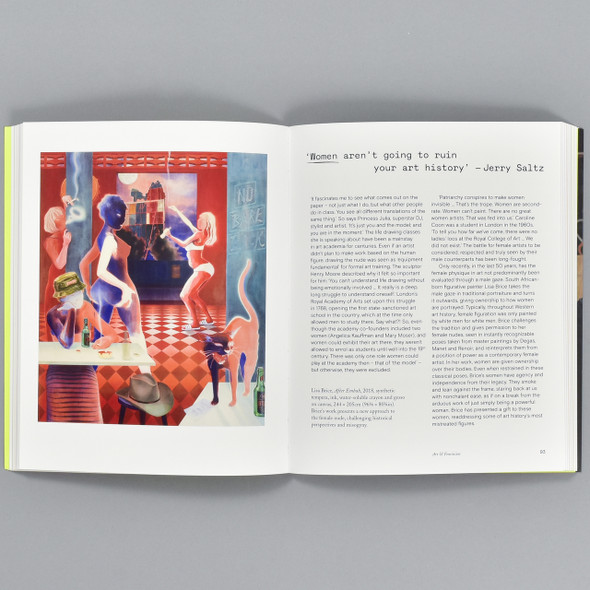 Pages from the book Talk Art: Everything You Wanted to Know About Contemporary Art But Were Afraid to Ask