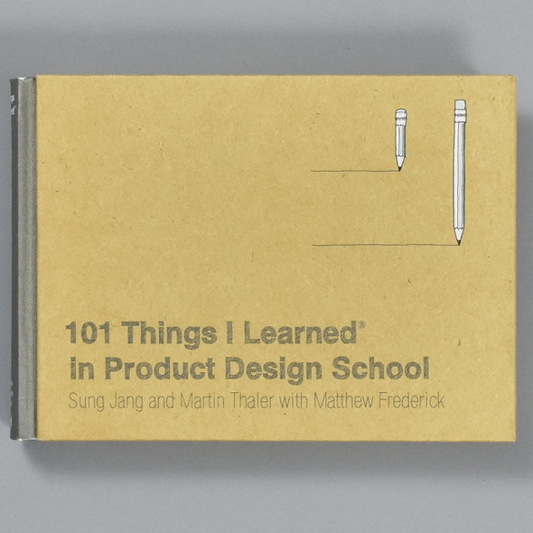 Front cover of 101 Things I Learned in Product Design School