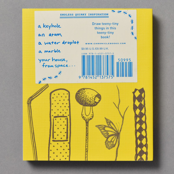 "Back of the book ""642 Tiny Things To Draw"""