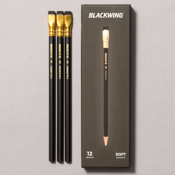Blackwing Soft Graphite Pencils front of packaging