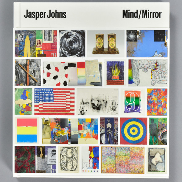 Front cover of Jasper Johns Mind/Mirror, with belly band