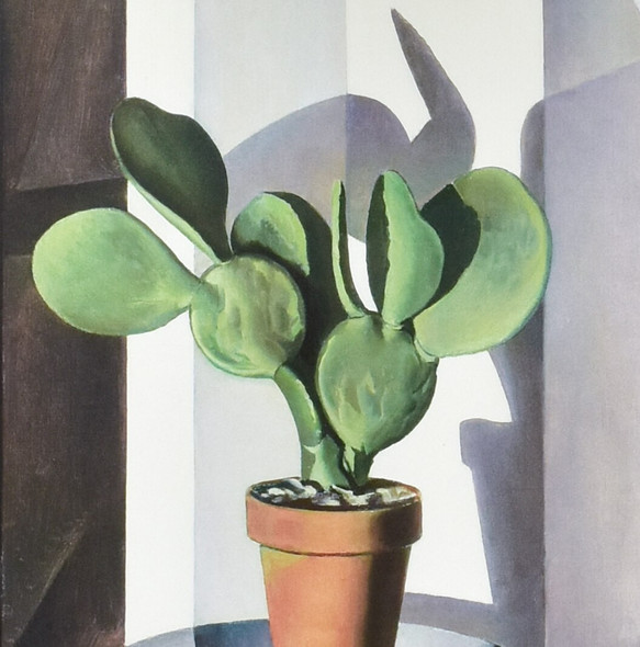 Charles Sheeler Cactus Mini Poster, detail