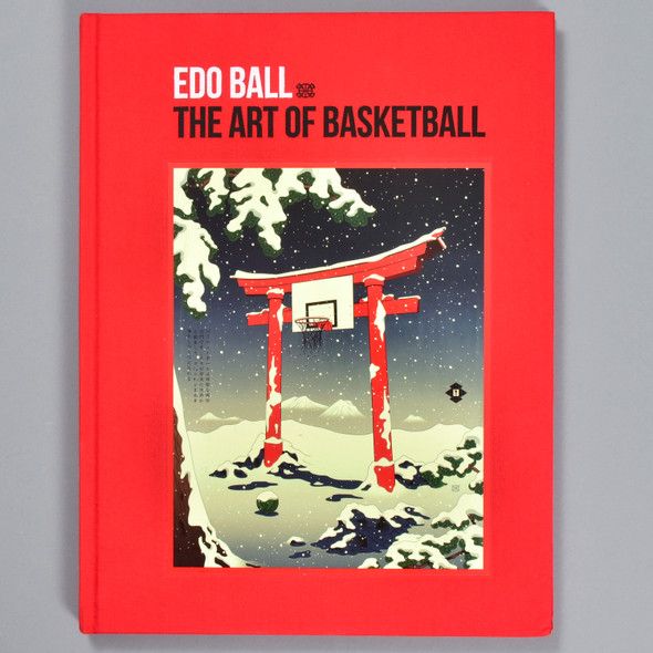 Front cover of the book Edo Ball: The Art of Basketball