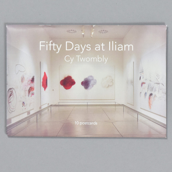 Cy Twombly Fifty Days at Iliam Postcard Set, box