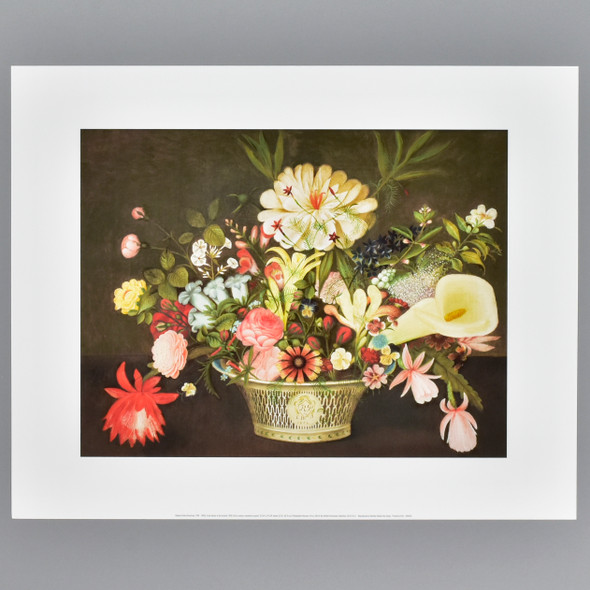 Peale: From Nature in the Garden Archival Poster