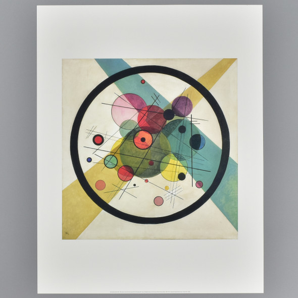 Kandinsky: Circles in a Circle Archival Poster