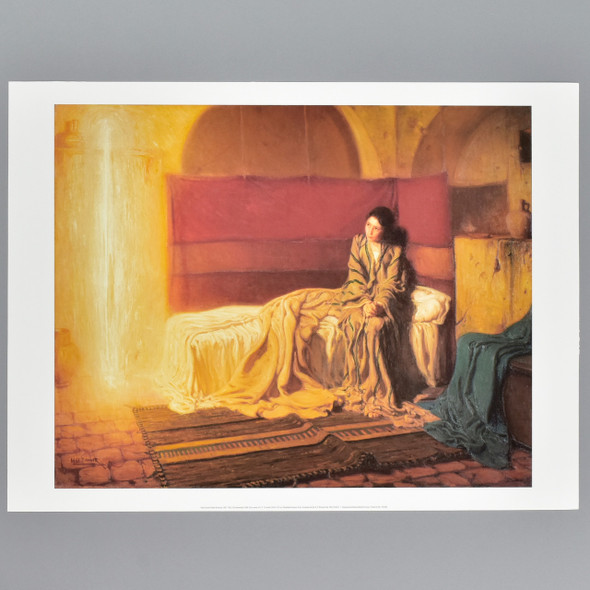 Tanner: The Annunciation, 1898 Archival Poster