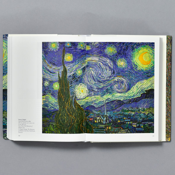 Interior of book Van Gogh: The Complete Paintings