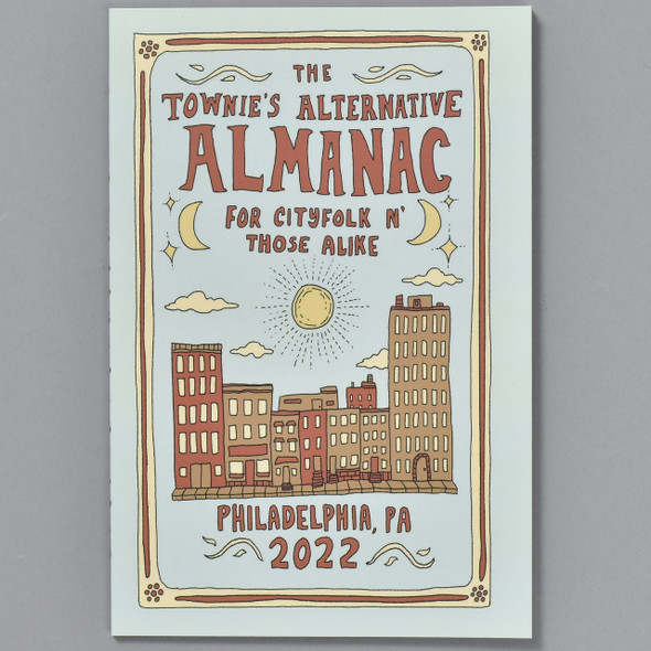 Front cover of The Townie's Alternative Almanac for Cityfolk n' Those Alike