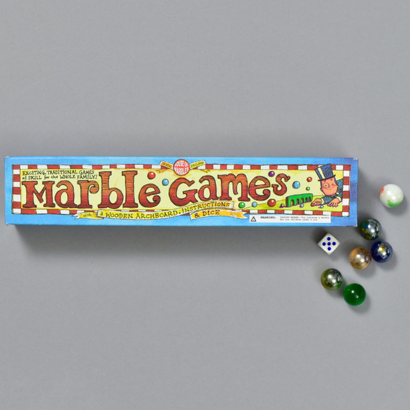 Marble Games, box and marbles
