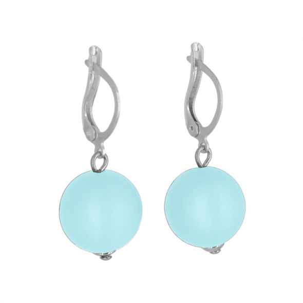 Light Blue Drop Earrings