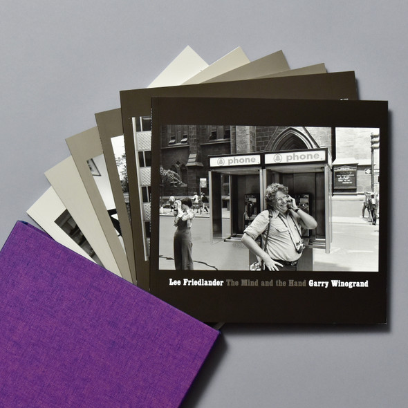 Front covers of books from Lee Friedlander: The Mind And The Hand