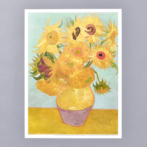 Vincent van Gogh Sunflowers Mini Poster