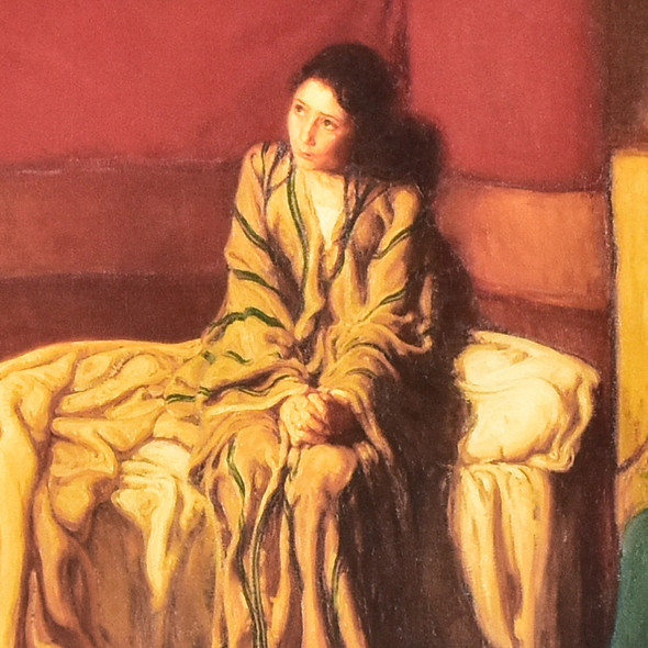 Henry Ossawa Tanner The Annunciation Mini Poster, detail