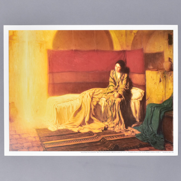 Henry Ossawa Tanner The Annunciation Mini Poster