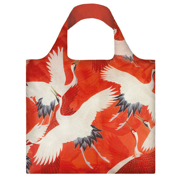 Haori With Cranes Folding Tote