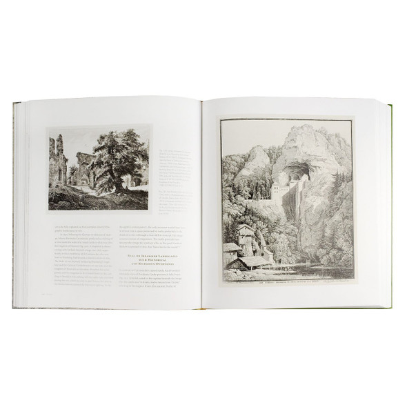 "Interior page of the book ""The Enchanted World Of German Romantic Prints: 1770 - 1850"""