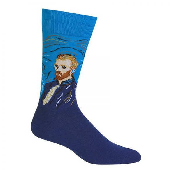 Van Gogh Self-Portrait Men's Socks